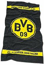 Borussia Dortmund BVB-Handtuch Emblem 50x100 cm