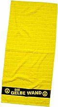 Borussia Dortmund BVB-Handtuch Gelbe Wand 50x100cm
