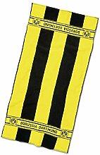 Borussia Dortmund BVB-Handtuch mit Blockstreifen