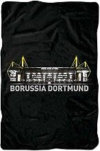 Borussia Dortmund BVB Spannbettlaken Stadion,