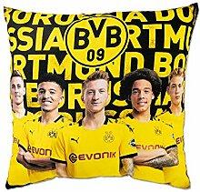 Borussia Dortmund BVB-Spielerkissen (40x40cm) one