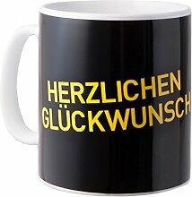 Borussia Dortmund BVB Tasse Herzlichen