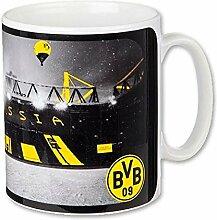 Borussia Dortmund Weihnachtstasse - Tasse / Kaffeetasse / Kaffeepott / Mug / Becher Team - BVB 09