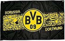 Borussia Dortmund Zimmerfahne Südtribüne - plus