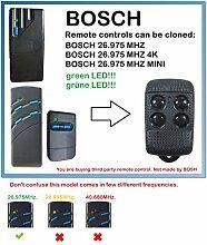 BOSCH 26,975 MHZ. Bosch 26,975 MHZ 4K Mini