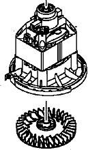 Bosch Motor für Rasenmäher F016104035