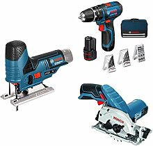Bosch Professional 12-Volt Multitool-Set für die
