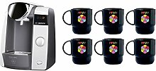 Bosch TASSIMO Joy T43 Bundle Set + 6x Tupperware