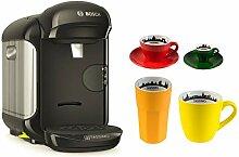 Bosch TASSIMO Vivy 2 + 4tlg. City Range Set Kaffee