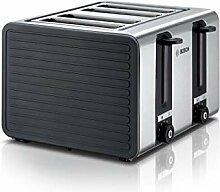 Bosch TAT7S45 4-Schlitz-Toaster Edelstahl mit