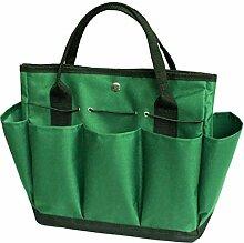 BOSFLAG Faltbare Oxford Garten-Werkzeugtasche