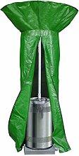 Bosmere P545Protector Plus Schutzhülle für Terrassenstrahler, rund, wendbar, Grün/Schwarz