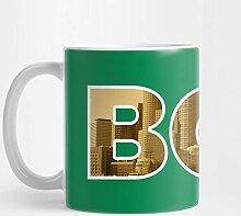 Boston Celtics Skyline 11 Unzen Kaffee-Haferl