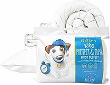 Boston Duvet & Pillow Co Kids 7,5Komplettes Erstes Bett-Set, weiß