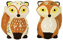 Boston Warehouse Foxy Foxes Salt and Pepper Shaker