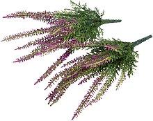 Botanic-Haus Kunstblume Erikabusch mit 15 Stielen