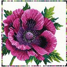 Bothy Threads Garten Blumen: lila Poppy Se