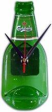BottleClock Carlsberg Uhr