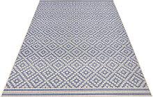 bougari Teppich Raute, rechteckig, 8 mm Höhe,