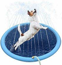 bouncevi Pet Sprinkler Splash Pad Spielmatte