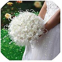 Bouquets Künstliche Brautsträuße Brautjungfer