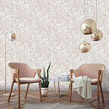 Boutique Rose Gold Palm Springs Floral Trail Tapete