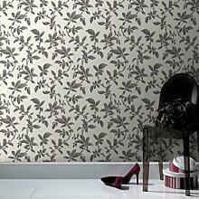 Boutique Sarra Tapete schwarz weiß