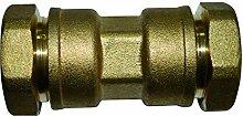 boutt 2104497sej20Verbindungsstück, Messing Union/Polyethylen, Rohr, Durchmesser: 20