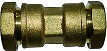 boutt 2104503sej25Verbindungsstück, Messing Union/Polyethylen, Rohr, Durchmesser: 25