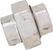 boutt 2137426udf15Verbindungsstück, Eisen, verzinkt, konisch, Union/weiblich 15x 21