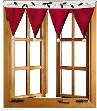 Bovake Gardine Duschvorhang Tür Fenster Drapieren