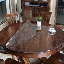 Bove Klare PVC-Tabellen-Schutz-Tischdecke,