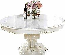 Bove Klare PVC-Tischschutz-Tischdecke, Kunststoff
