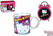 BOX Hello Kitty Tasse und Wecker