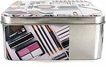 Box Kosmetik-Blech Design Weiß