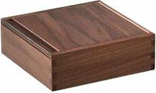 Box mit Schiebedeckel Zieher Größe: 6 cm H x 18