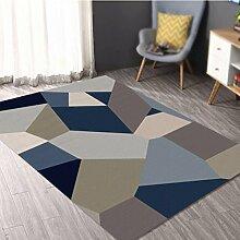 Box Muster Teppich / Wohnzimmer Couchtisch Teppich geometrische Teppich / Schlafzimmer Nacht Teppich / Studie Halle Matte / Kinder krabbeln Teppich / Yoga-Matten ( größe : 200*300cm , stil : A )