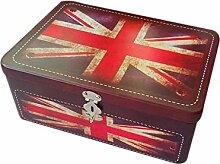 box vintage teebox Metall Retronostalgisch