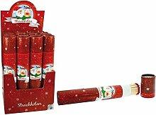 Box von 60Streichhölzer XL 'Christmas' 28cm–Qualität coolminiprix®