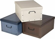 Boxen-Set aus Karton Marlow Home Co.