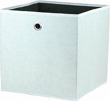 Boxen-Set aus Stoff ClearAmbient Farbe: Weiß
