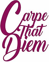 Boxer Gifts Chatterwall Carpe That Diem, Purple One