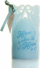 Boxer Gifts Home Away Wachs Flammenlose Kerze,