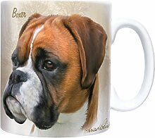 Boxer - Sepia - Mug - Becher - Chopes