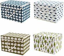 BOXLeader Aufbewahrungsbox 4-Pack