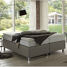 Boxspringbett Ashling ohne Topper Zipcode Design