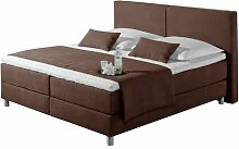 Boxspringbett Marlow Home Co. Farbe: Choco,