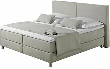 Boxspringbett Marlow Home Co. Farbe: Ecru,