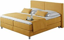 Boxspringbett Marlow Home Co. Farbe: Orange,