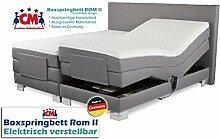 Boxspringbett ROM II elektrisch verstellbar mit